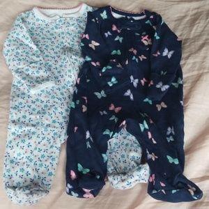 Carter's Newborn Zip Footies